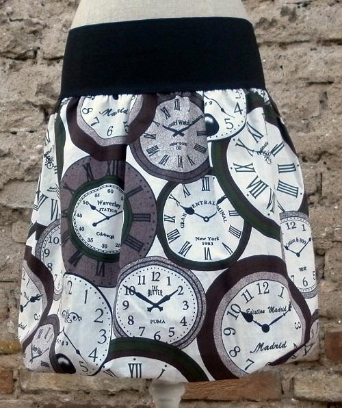 balonová sukně hodiny